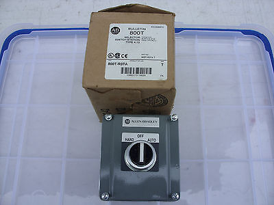 Allen Bradley 3 position Selector Switch