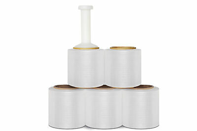 "(18 Rolls) Bundle Banding Stretch Wrap Film 3"" x 1000' 32 Gauge"