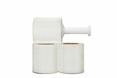 "5"" x 1000FT 12 Rolls Pallet Wrap Pre-Stretch Film Shrink Hand Wrap"