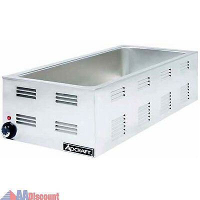 NEW ADCRAFT FW1500W 4/3 SIZE PAN WARMER STEAM TABLE COUNTER