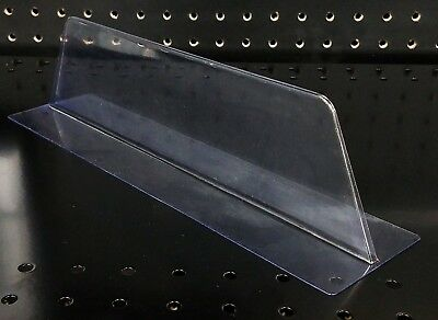 Clear Plastic Shelf Merchandise T Divider - 10 Pieces