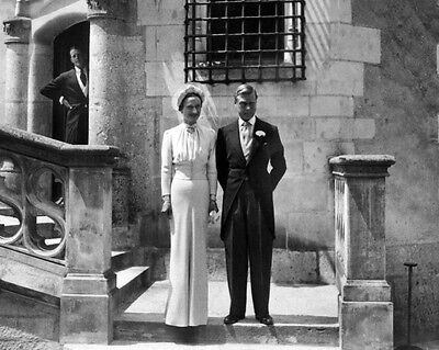 New 8x10 Photo: Former King Edward VIII with Wallis Simpson, Duchess of Windsor