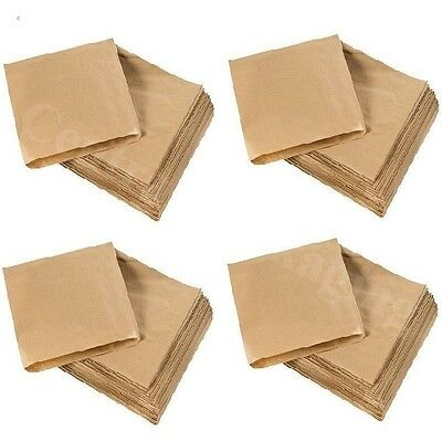 BROWN KRAFT PAPER BAGS 10 x 10 (254mm x 254mm) for Childrens party lunches sweet