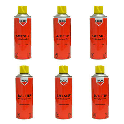 6 x ROCOL Antirutsch Spray 400ml (59,21€/l) Beschichtung RS 45000 Safe Step ITW