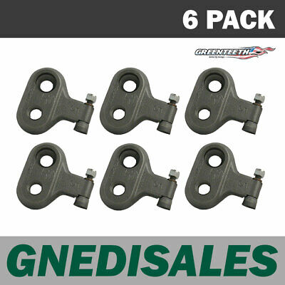 500 Series Greenteeth Straight Pockets - 6 pack