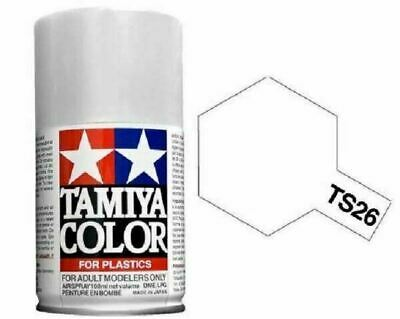TAMIYA COLORI SPRAY 100 ml PER PLASTICA TS26 PURE WHITE FOR PLASTICA BOMBOLETTA