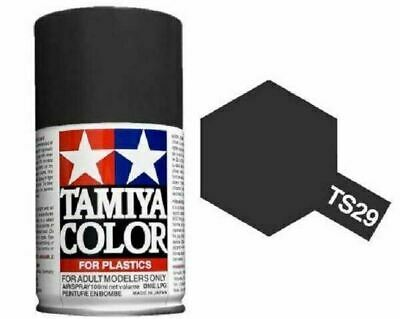 TAMIYA COLORI SPRAY 100 ml PER PLASTICA TS29 SEMI GLOSS BLK FOR PLASTICA