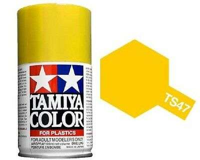 TAMIYA COLORI SPRAY 100 ml PER PLASTICA TS47 CHROME YELLOW FOR PLASTICA
