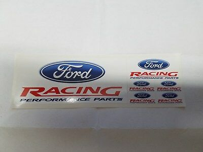 One Sheet Of Ford Racing  Decals M-1820-B1