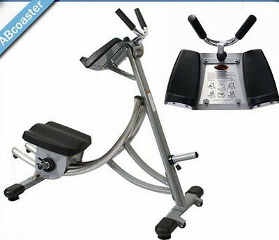 AB Coaster FLEX Exercise Machine Bottom Up Movement, Latest Foldable Model