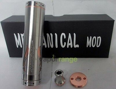 A-Mod Stingray X Clone Stainless Steel/Copper Mechanical Mod 22mm w/Copper Pin