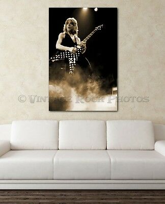 Randy Rhoads Poster Ozzy 20x30 inch Size Photo Live Exclusive Concert Print 7S