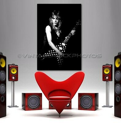 Randy Rhoads Poster Ozzy 24x36 inch Size Photo Live Exclusive Concert Print 1