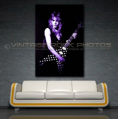 Randy Rhoads Poster Ozzy 24x36 inch Size Photo Live Exclusive Concert Print 1V