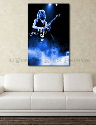 Randy Rhoads Poster Ozzy 24x36 inch Size Photo Live Exclusive Concert Print 7I