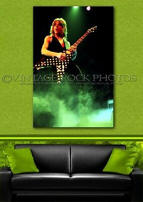 Randy Rhoads Poster Ozzy 24x36 inch Size Photo Live Exclusive Concert Print 7