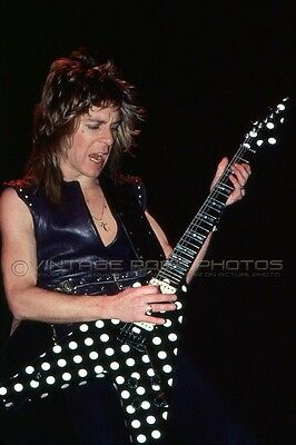 Randy Rhoads Photo Ozzy 8x12 or 8x10 in Live '80s Exclusive Concert Pro Print 8