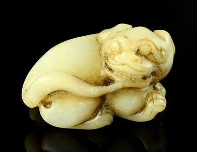 Foo Dog - Lion Carving - Late Ming Dynasty