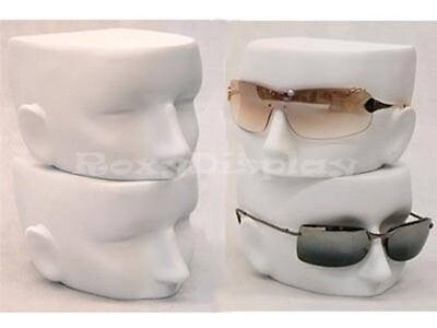 Female Mannequin Head Stand Display Glasses or Spectacle #MD-FFACE-WH (4 pcs)