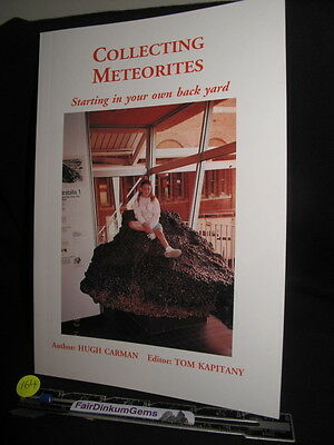 Book, Meteorites,Collecting Meteorites starting in your own back yard (164)