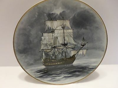 1980 FLYING DUTCHMAN A D Estrehan LEGENDARY SHIPS THE SEAS Collector Plate COA