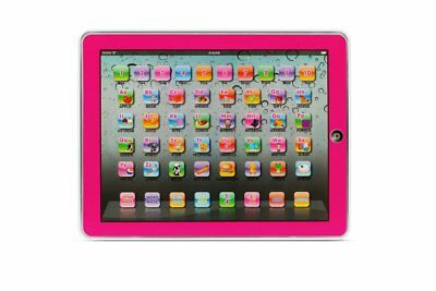 NEW Kogan Learning Pad Kids' Interactive Pink Educational Toys