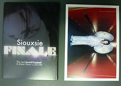 Siouxsie Sioux (and the Banshees) Punk Rare Collection Of 8 Postcards + Case