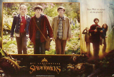 SPIDERWICK CHRONICLES - Lobby Cards Set - Freddie Highmore, Sarah Bolger