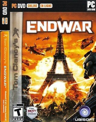 Tom Clancy's EndWar  (PC, 2009) Brand New Sealed Fast Shipping!