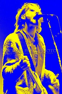 "Kurt Cobain Nirvana Photo 8x12 or 8x10"" Live '90s Concert Ltd Ed Art Design 8A"