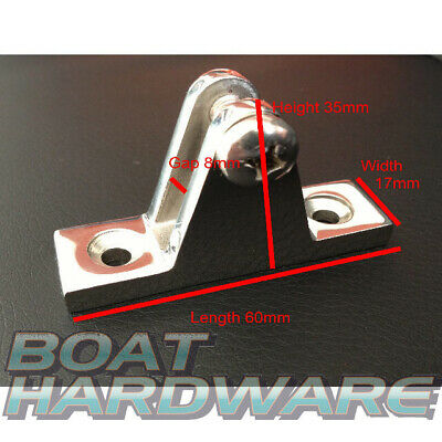 Boat Deck Hinge 90 Degree with Screw 316 Marine Stainless Steel Use for Bimini