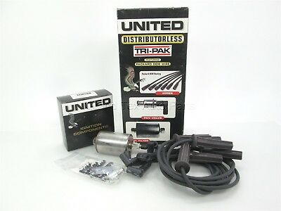 New United 4-7641 Tune-Up Spark Plug Wires PCV Valve and Fuel Filter Kit