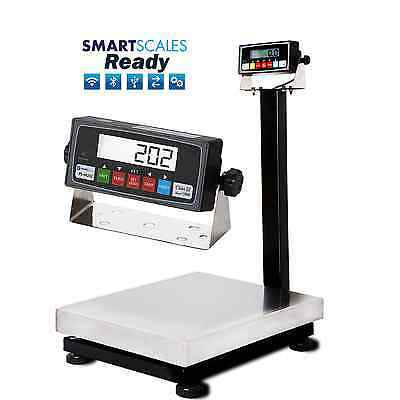 New 800x0.05lb Smart Bench Scale   Shipping Scale   Floor Scale w/ USB +Software