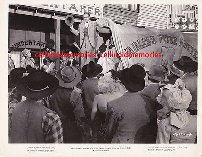 Original Photo Bob Hope & Jane Russell in The Paleface 1948