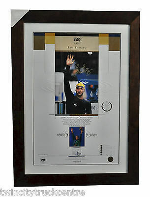 Ian Thorpe Australian Olympic Team 2000 Limited Edition Signed Memorabilia