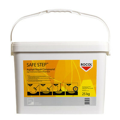 ROCOL Safe Step Asphalt Repair Compound 25kg (3,61€/kg) Bodenreperatur RS42031