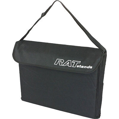 RAT 69Q2 Jazz orchestral music stand/Z3 tablet stand gig bag in black