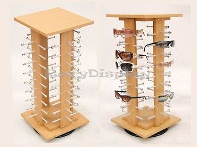 Wooden Style Sun Glasses Display Rack #SU-MZ5050-4