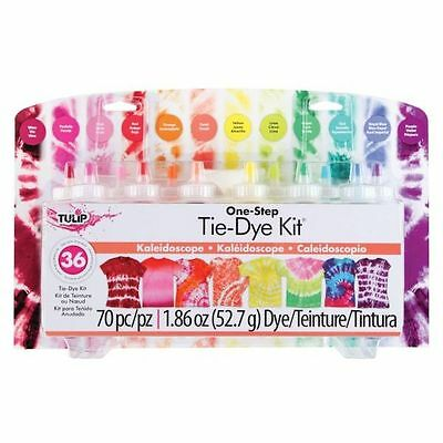SUPER BIG One Step TIE DYE KIT Enough for 36 Projects Tulip KALEIDOSCOPE Tye Set