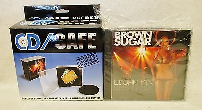 Cd Case Safe Diversion Security Hidden Hide Stash Cash Valuables Home or Travel