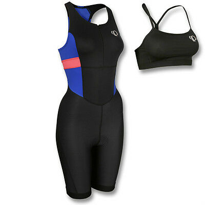 Pearl Izumi Women's Select Trisuit Bra Top Triathlon Cycling Running 13211404