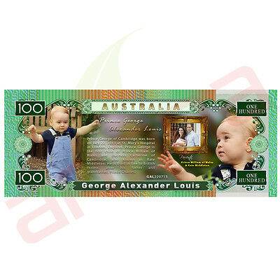 Prince George - Australian 100 Dollar Novelty Money