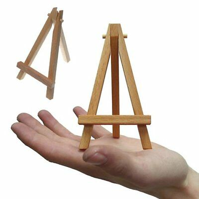 Mini Easel Elm Wood 7 x 12 cm Painting Canvas Art & Craft Table Stand Wedding