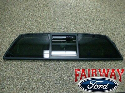 Fits Ford 04-14 F150 Power Sliding Back Glass Window Center Piece for OEM   !