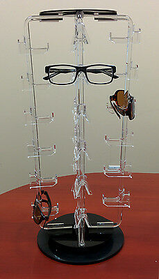 Counter Top 24 Pair Rotating Eyeglass Sunglass Display Spinner