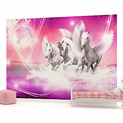 WALL MURAL PHOTO WALLPAPER (589PP) Horses Girls Bedroom