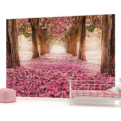 WALL MURAL PHOTO WALLPAPER (851PP) Flowers Floral Trees Woods