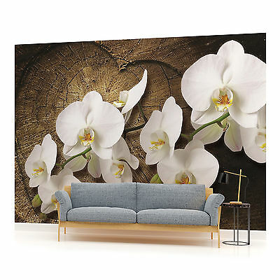 WALL MURAL PHOTO WALLPAPER (1014PP) Orchids Flowers Tree Floral