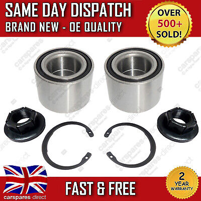 2X Rear Wheel Bearing Ford Focus 98 - 05 Fiesta 01 - 09 Fusion 02>12 *new*