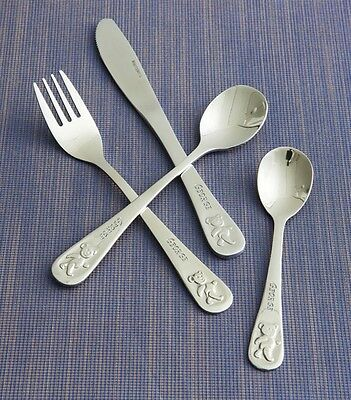 Personalised Teddy's Table Engraved Cutlery Set